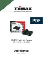 IC-1500 Wg Manual