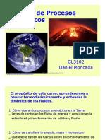 Energía de Procesos Geológicos - Clase 1 Intro