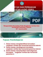 L1 Memperbaiki Penerima Televisi