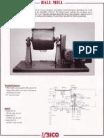 Ball Mill Operating Manual