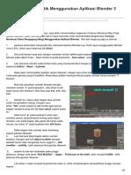 Faris6593.Blogspot.co.Id-Membuat Mug Cantik Menggunakan Aplikasi Blender 3 Dimensi