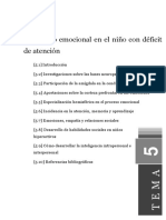 Tema5 Desarrollo Emocional en Niños Con Déficit de Atención