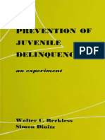 The Prevention of Juvenile Delinquency