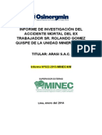 Informe Accidente Mortal ARASImod