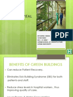Pre Thesis Green Hospital