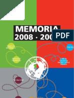 memoria de actividades 2008/9