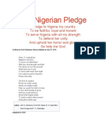 The Nigerian Pledge