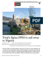 Total's Egina FPSO to Sail Away to Nigeria - BusinessDay _ News You Can Trust BusinessDay _ News You Can Trust