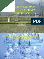 Pengamatan Dan Pengukuran Data Klimatologi