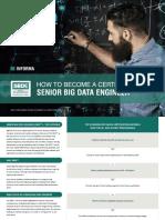 Senior Big Data Engineer Certification