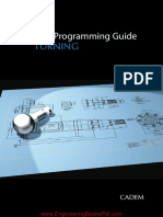 CNC Programing Guide for Turning