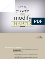 Create and Modify Habits