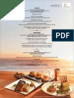 (TRI01344) JW Menu for Novotel HICC - La Cantina Non-Veg A4 (HYD)