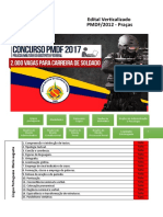 Edital Verticalizado PMDF Soldado 2013