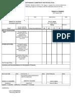 Copy of Ipcr Format