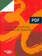 Modelo Político Andino en Bolivia
