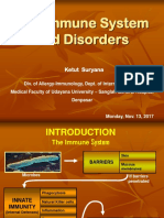 Lecture 1. Introduction Immune System and Disorders
