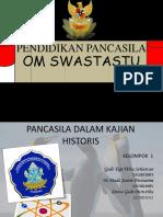 Pancasila Sebagai Historis