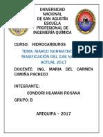 Masificación Delgas Natural en El Perú