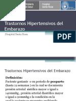 07.- Transtornos Hipertensivos Del Embarazo (1) Sta Rosa Agosto 2016