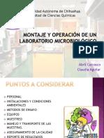 Montaje de Laboratorios de Microbiologia