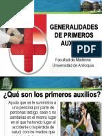 3. Generalidades de Primeros Auxilios
