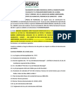 CONVENIO PERSONALIZADO LINOLEO