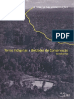 ISA Terras Indígenas e Unidades de Conservação.
