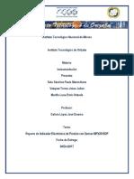 Reporte Medidor de Presion Proyecto Final