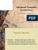 Lecture 7 - Pipelining Hazard_Control Hazard