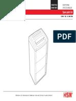 Parts list HSM 125.2