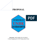 Proposal Unbk 2018