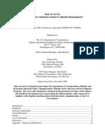 Phase Sensitive Methods to Detect Cathodic Disbondment