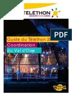 Guide des animations Téléthon 2017 pour le Val d'Oise (95)