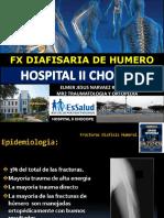 Fx de Hunmero Diafisis