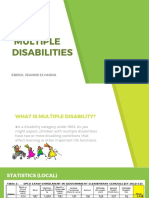 Severe and Multiple Disability