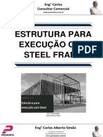Estrutura Para Execução Com Steel Frame
