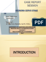 Carcinoma Cervix Ucup