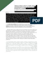 El Contexto de Las Iglesias en México Es Diverso y Amplio