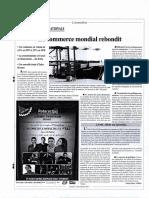 L'Economiste_Le Commerce Mondial Rebondit_27.11.2017