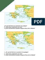 Espacio Fisico de Grecia