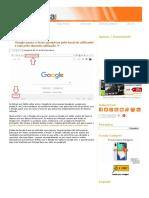 Google Passa a Fazer Pesquisas Pelo Local Do Utilizador e Não Pelo Domínio Utilizado