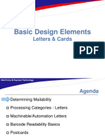 Usps Basic Design Elements Letters and Cards