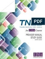 TNCC Provider Manual Study Guide