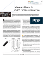 Finding Problems in HVAC R Refrigeration Cycle