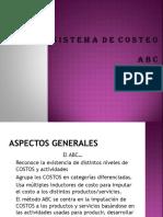 Sistema de Costo ABC