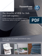 Benefits of RFID in Slab and Coil Logistics