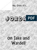 Jordan Book on Jake and Wardell