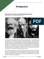 Revolucion y Fracaso Por Ramon Escovar Leon