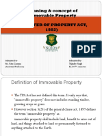 Presentation on Immovable Property